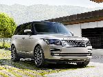 photo l'auto Land Rover Range Rover